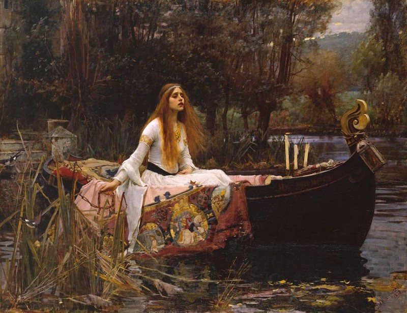 Photo: John William Waterhouse, The Lady of Shalott, 1888, Tate Britain