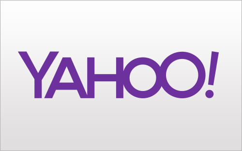 Photo: variant of the Yahoo logo, day 1st, August 7