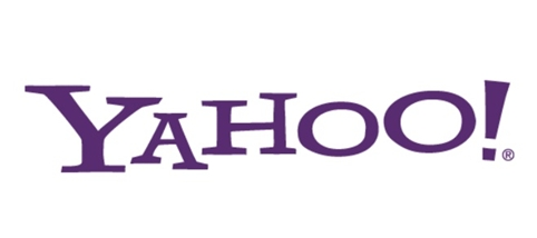 Photo: current Yahoo's logo