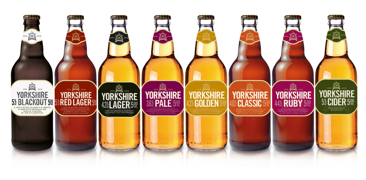 Photo: Yorkshire Brewery range