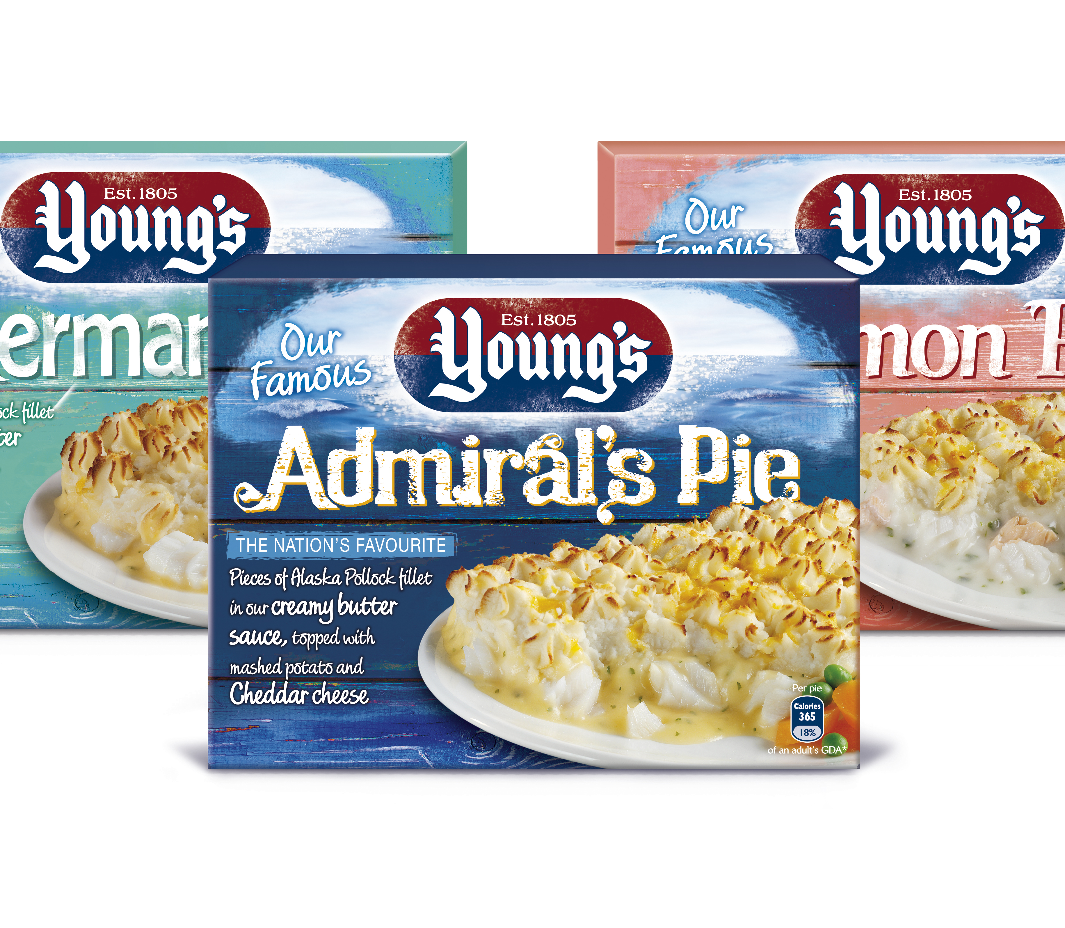 Photo: Young's Pies, new packaging