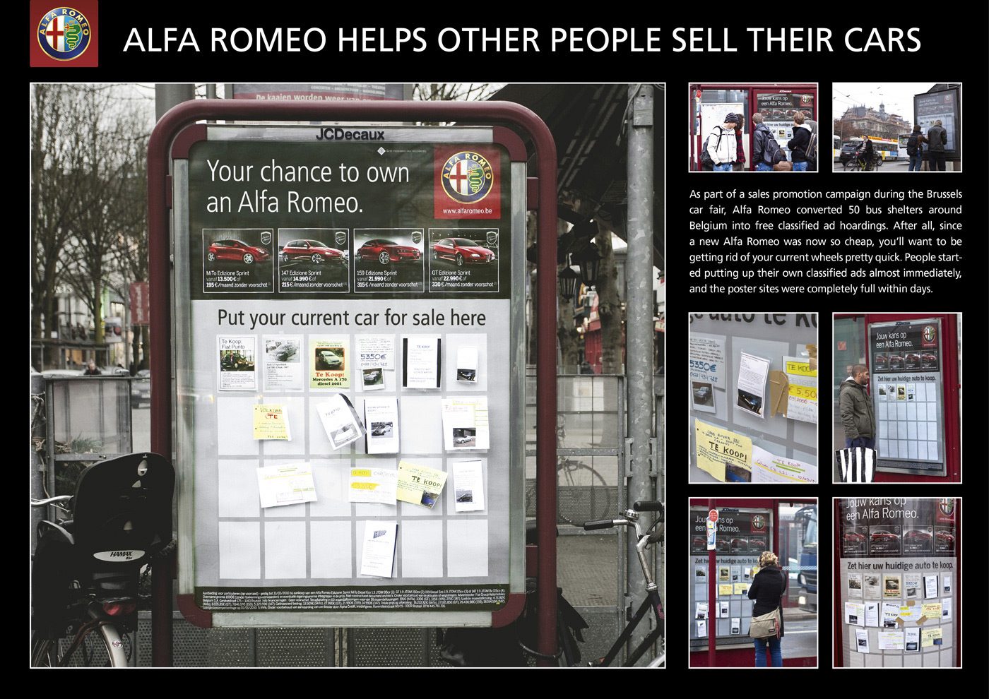Alfa Romeo Helps to Sell Old Cars – POPSOP