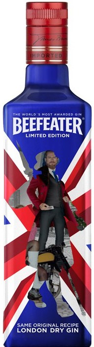 Photo: new limited-edition bottle of Beefeater gin