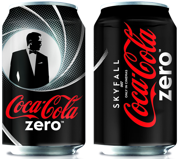 Coke Zero partners James Bond for Skyfall activity [Marketing magazine]