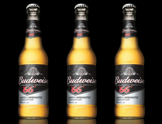 Новый Budweiser '66' - пиво для отдыха