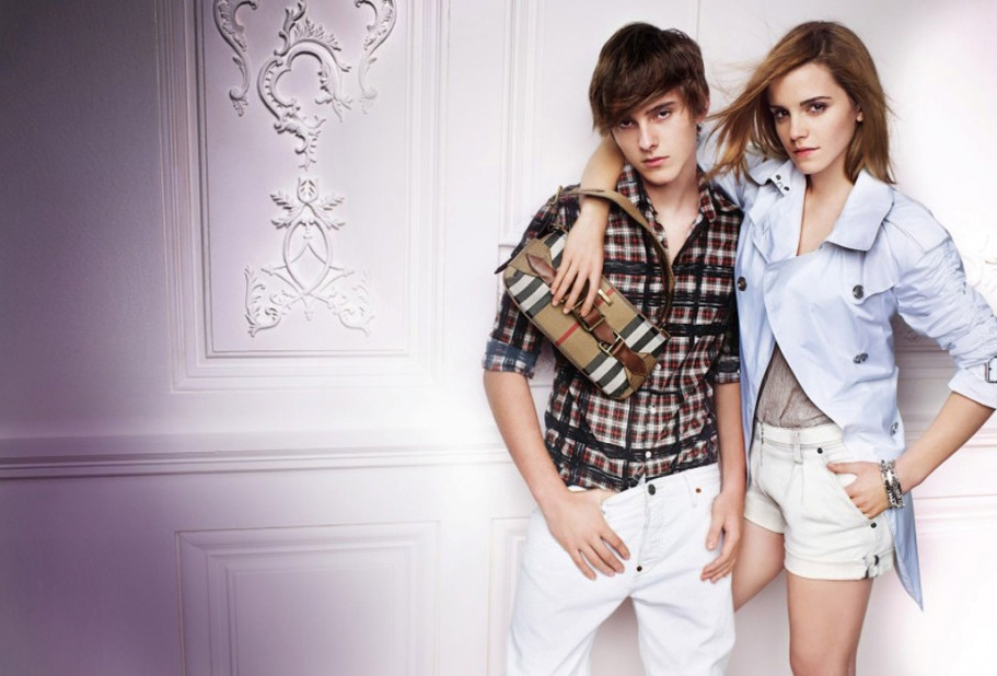 emma watson brother burberry