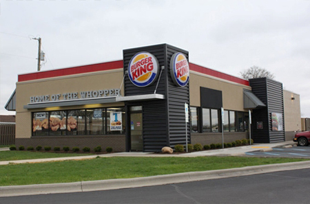 New Burger King Building Design