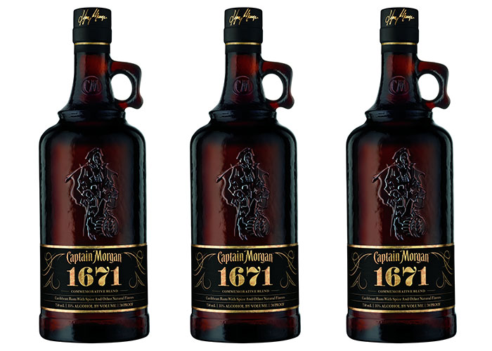 Photo: Captain Morgan 1671 limited edition