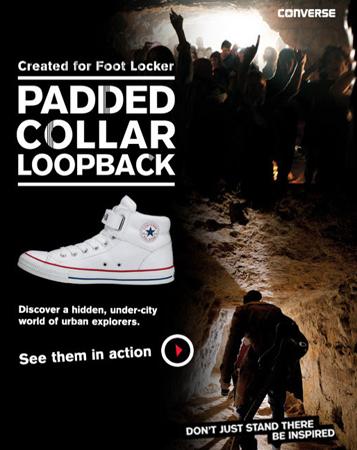9eeae6e9990e Converse and Foot Locker Encourage Youth to a Hidden Under-City ...