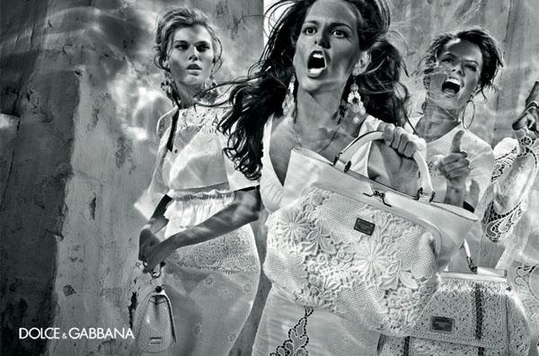 Рекламная кампания D&G весна-лето 2011.