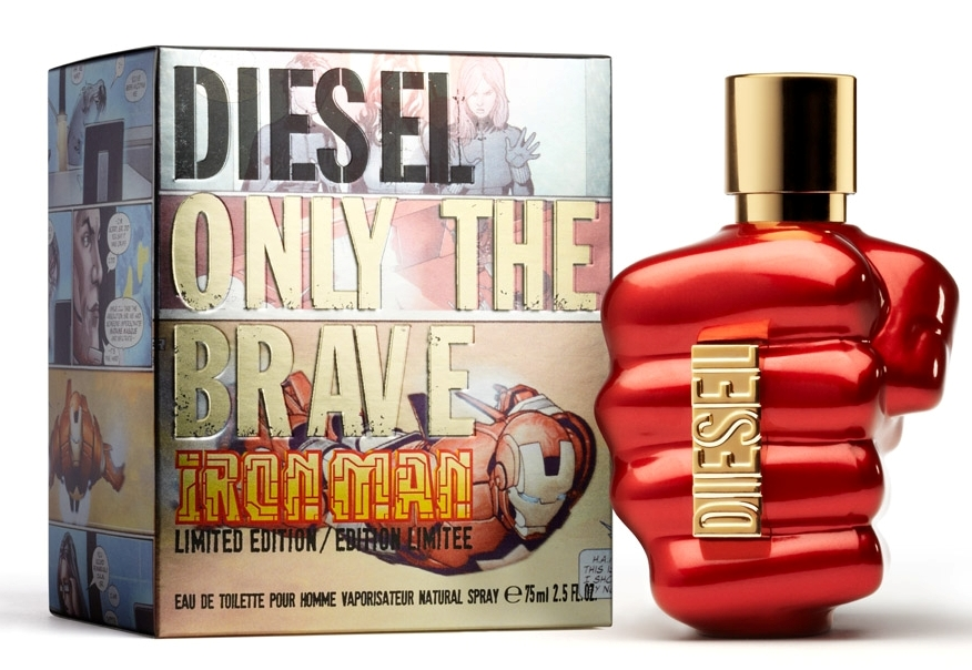 Only The Brave cologne for men in an eye-catching bottle in the form of a ...