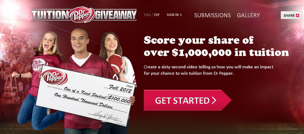 dr pepper tuition giveaway application 2019 dr pepper tuition giveaway 2012 will award talents again 9036