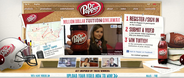 dr pepper tuition giveaway dr pepper to give away 1 million in college tuition this 7926