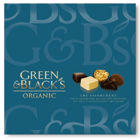 Photo: Green & Black's packaging, redesigned by Pearlfisher in 2009