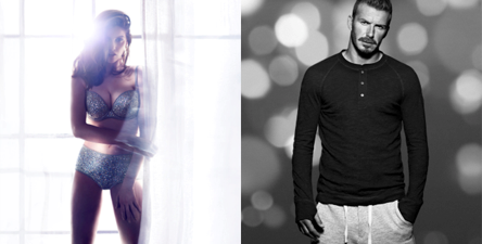 David Beckham and Laetitia Casta front Campaigns for H&M Underwear Christmas Collections