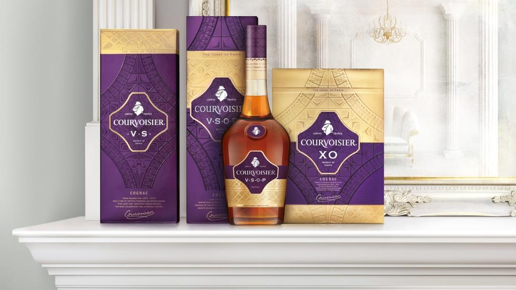 Photo: Courvoisier new package design by jkr