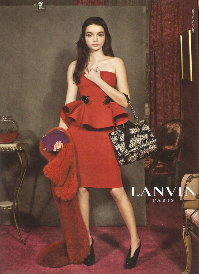Lanvin Celebrates Individuals In Its 2012 Fall Winter
