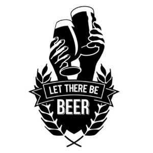 "Pic.  Logo of the ""Let there be beer"" campaign in the UK"