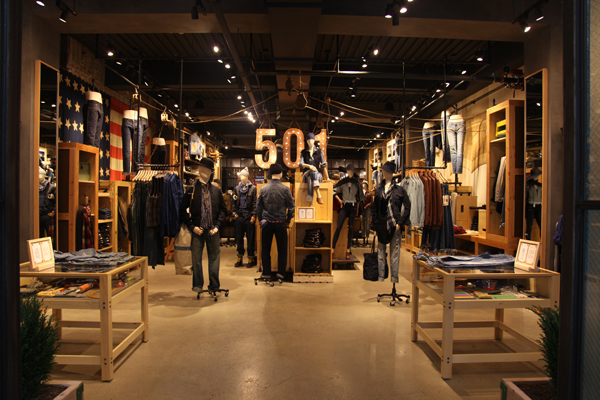 enorme sconto 5c4f3 27744 Levi's Opens Levi's Meatpacking Concept Store and Tailor ...