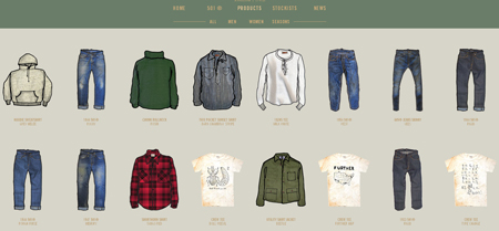 clothing websites