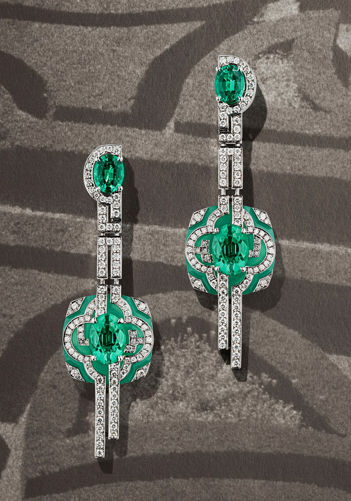 Louis vuitton honors paris with its new jewelry collection for Jardin francais jewelry