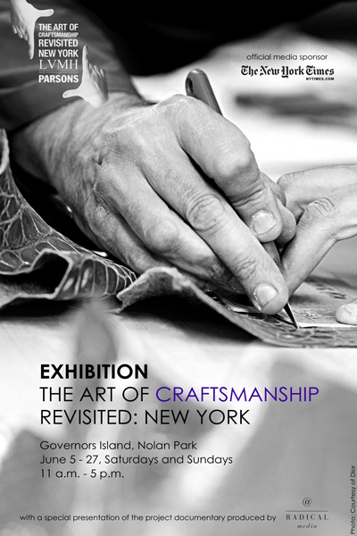 "LVMH Launches ""The Art Of Craftsmanship Revisited: New"