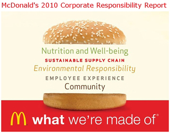 business ethics of mcdonalds Mcdonald's founder ray kroc lacked a code of ethics lying, stealing, and  his  way to take over richard and maurice mcdonald's business.