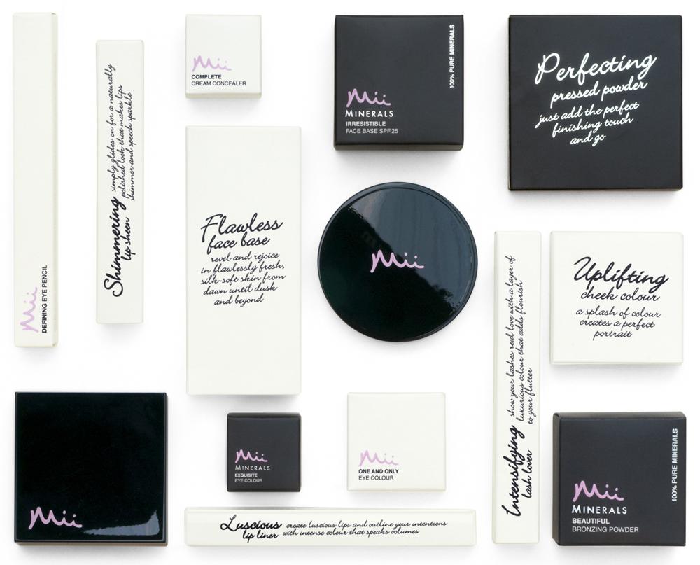 Pearlfisher Developed 'Romantic' Branding for the Mii Make