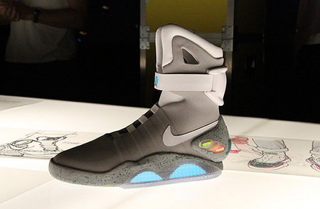 Nike Auctioning off 150 Pairs of Its MAG trainers from 'Back to the Future  II'