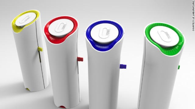 "Photo: oPhone devices that ""message"" scents to fragrance a room. Image source: CNN"