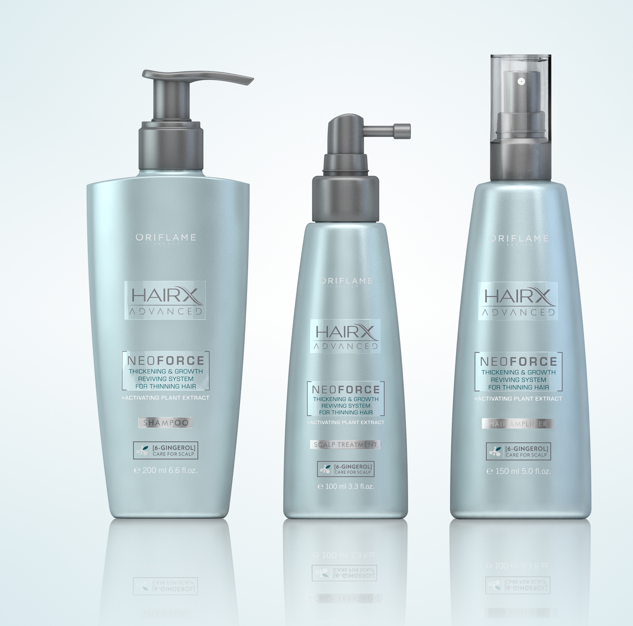 Photo: Oriflame's hair care range