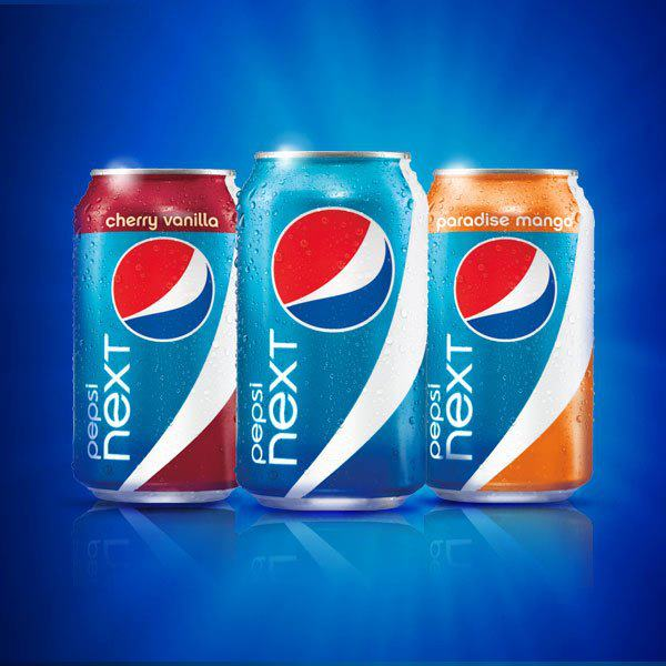 Pepsi NEXT Seasonal Soda Packaging