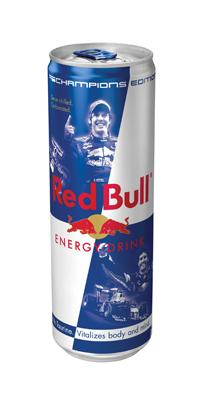 Лимитированная серия Red Bull Champion's Edition появится на полках...