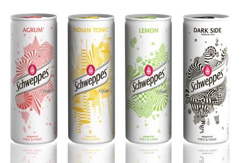 Дизайн упаковки для напитка Швепс (500x332).