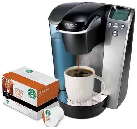 One Cup Starbucks Coffee Maker : Starbucks Is to Launch Coffee K-Cup Portion Packs POPSOP In unison with the planet