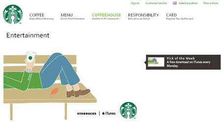 Starbucks Has Launched a Free Music and Book Service on iTunes – POPSOP