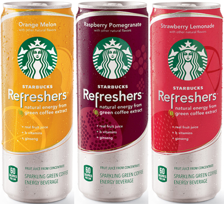 Starbucks Enters The Energy Drinks Category With Starbucks