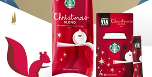 Starbucks Rekindles ahead of Christmas