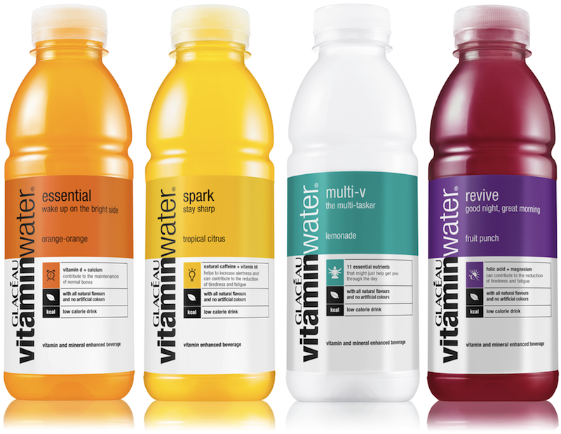 Coca Cola S Glac Au Vitaminwater Revises The Formula And