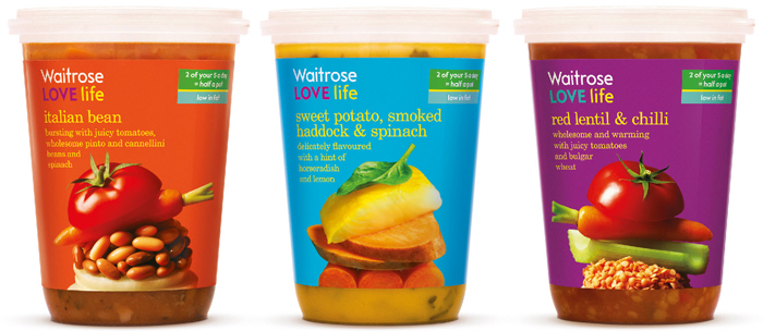 Photo: Waitrose LOVE life soups